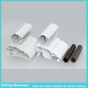Industrial Aluminum Profile with Different Shapes Excellent Milk Powder Coating