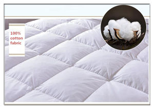 Cheap Goose Down Feather Bedding Mattress Topper pictures & photos