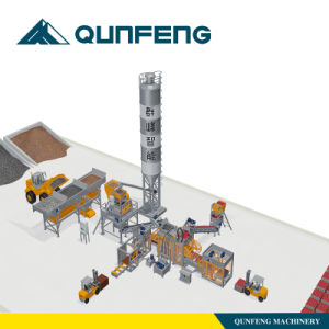 Simple Block Making Production Line Qft5-15 pictures & photos