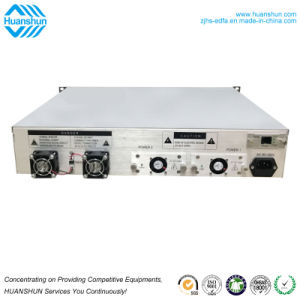 32ports High Power Optical Fiber Wdm 1550nm EDFA Amplifier with Wdm