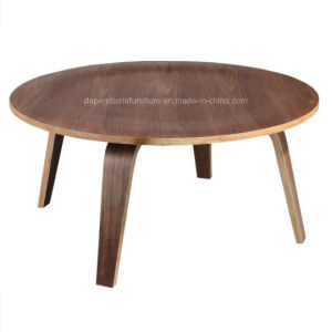 Wooden Furniture Round Bentwood Coffee Table