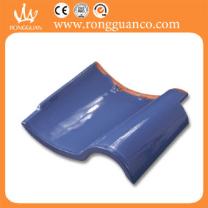 Blue Color Glazed S Tile Roof Tile (L36) pictures & photos