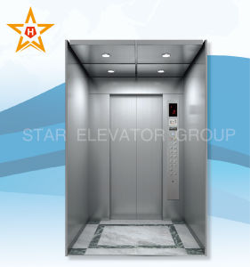 Elevator Machine with Standard Functions (Hairline finish)