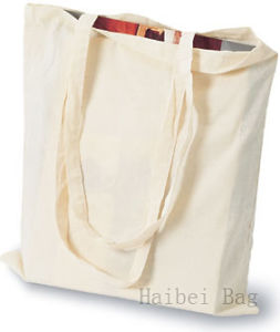 Custom Cotton Shopping / Tote Bag with 10cm Gussets (hbco-107) pictures & photos