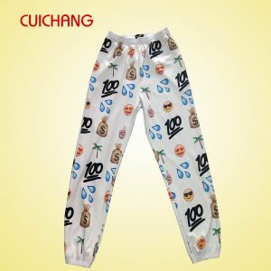 Sublimated Ladies Trousers Custom Printed Pants for Women High Quality Bodycon Trousers for Women