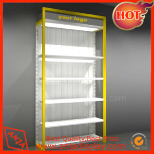 Wood Clothing Display Racks Gondola Display Stand pictures & photos