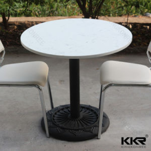 Marble Color Dining Room Furniture Quartz Stone Table