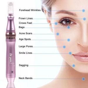 Derma Pen Wireless Micro Electric Derma Pen, Home Use Dermapen, Dr  Pen Meso