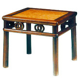 Antique Furniture - Stool (E-052)