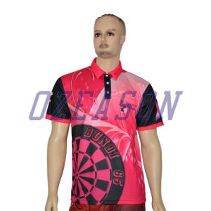Wholesale Custom Polyester Breathable Sublimation Polo Shirt pictures & photos