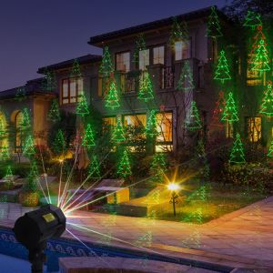 Christmas Light Projector.2018 New Products Ip 65 Outdoor Christmas Star Projector Laser Light Shower Christmas Laser Light