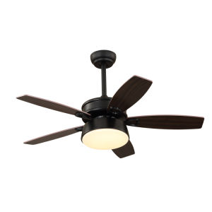 China 48 42 Inch Black Ceiling Fan With