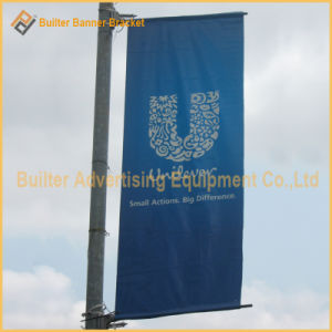 Metal Street Pole Advertising Flag Kit (BS-HS-055) pictures & photos