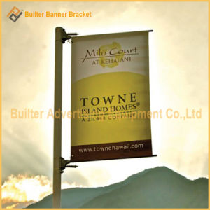 Metal Street Pole Advertising Banner Parts (BS-HS-011) pictures & photos