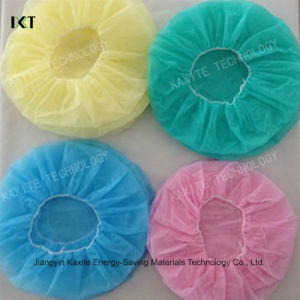 Disposable Bouffant Cap Manufacturer Stock Doctor Nurse Cap Kxt-Bc11 pictures & photos