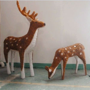 china reindeer christmas decorations reindeer christmas decorations manufacturers suppliers made in chinacom - Indoor Christmas Reindeer Decorations