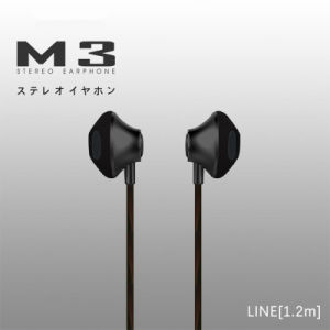 Best Selling High Quality Wired OEM Earphone with Mic Super Bass Earphone for iPhone for Samsung in Ear Earphone