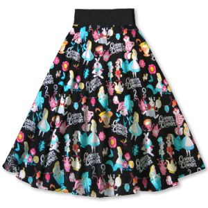 Clothing Supplier From China Suzhou Women MID-Knee Elegant Party Skirts pictures & photos