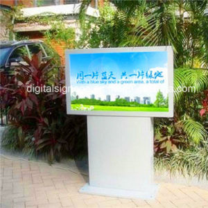 "55"" Outdoor LCD Display Sunlight Readable Advertising Display"