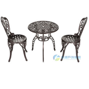 Outdoor/Patio/Garden Furniture-Aluminum Cast Furniture (FY-005ZX)