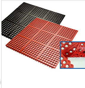 Best Quality Drainage Interlocking Rubber Floor Mat/Matting