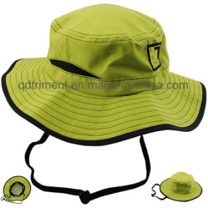 100% Polyester Microfiber Outdoor Leisure Fisherman Bucket Hat (TMBH0705) pictures & photos