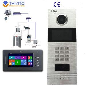 China Vila/Multi Apartment Video Intercom System for Doorphone ...