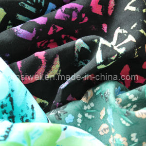 100% Rayon Fabric with Printed (SL15003) pictures & photos