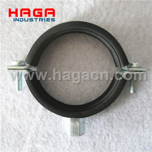 DIN4109 Steel Rubber Pipe Clamp pictures & photos