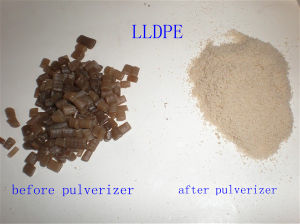 LDPE Pulverizer PVC/LLDPE Fine Grinding Machine pictures & photos