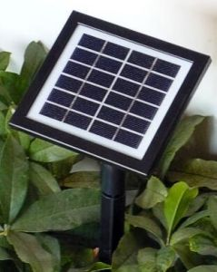 Glass PV Solar Panel Controller with Battery Monocrystal 15*13 pictures & photos