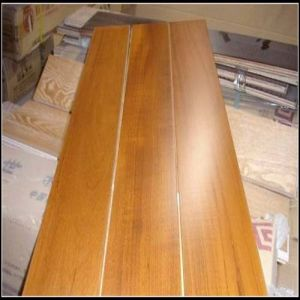 Stained Dark Teak Engineered Flooring (Teak engineered flooring) pictures & photos
