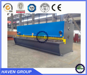 QC12k-6X2500 CNC Hydraulic Swing Beam Shearing and Plate Cutting Machine pictures & photos