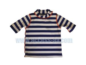 39e2da46f2 Baby Boy Rashguards Surfing Clothes Kids Swimwear Beach Wear Striped Design