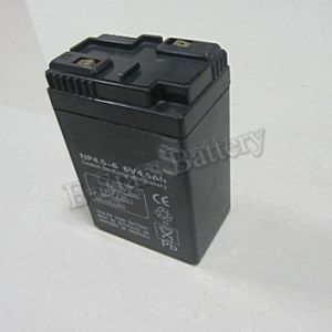 China 6v 4 5ah Valve Regulated Lead Acid Battery Toy Car Battery