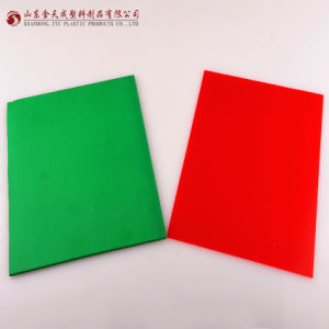 PP Colored Sheets (green and red) Thickness: 1-40mm Manufacture pictures & photos