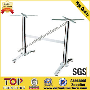 Rectangular Top Stainless Steel Leg Restaurant Table pictures & photos