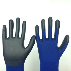 Nylon Work Gloves with PU Coating