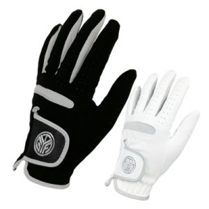 Men′s Microfiber Cloth Breathable Wear-Resistant Golf Gloves