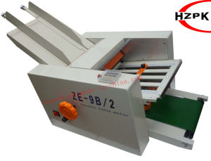 Automatic Paper Folding Machine (ZE-9B/2) pictures & photos