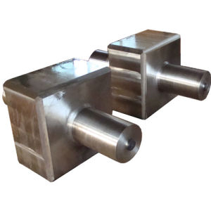 Open Die Forging Cylinder with Cube in Centre pictures & photos
