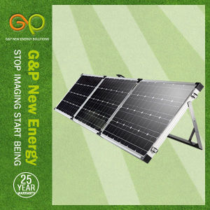 180wp Folding Panel Monocrystalline, Portable Panel with MPPT or Pmw Controller pictures & photos