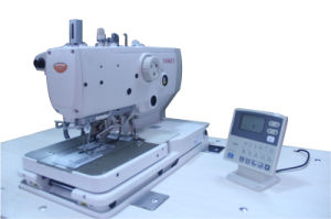 Computer Direct-Drive Eyelet Buttonholing Sewing Machine