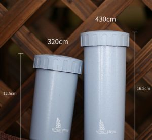 Wheat Straw Green Degradable Daily Use Cup with Lid
