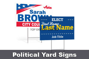 Advertising Banner Garden Signs Real Estate Yard Banner, Custom Printed Political Yard Sign pictures & photos