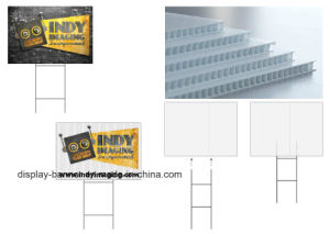 Custom Print on Corrugated Plastic Sheet / Corflute Sheet / Printed Corrugated Plastic Yard Sign pictures & photos