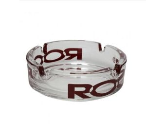 Roor - Glass Ashtray with Color Logo pictures & photos