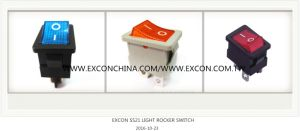 Excon Ss21 Rocker Switch with Lamp Power Rocker Switch