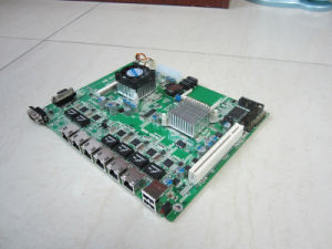 Firewall Motherboard D525 With 6xintel Gigibit LAN