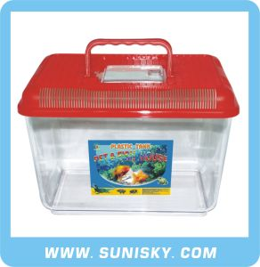 Plastic Aquarium Tank Red SPF-8803 pictures & photos